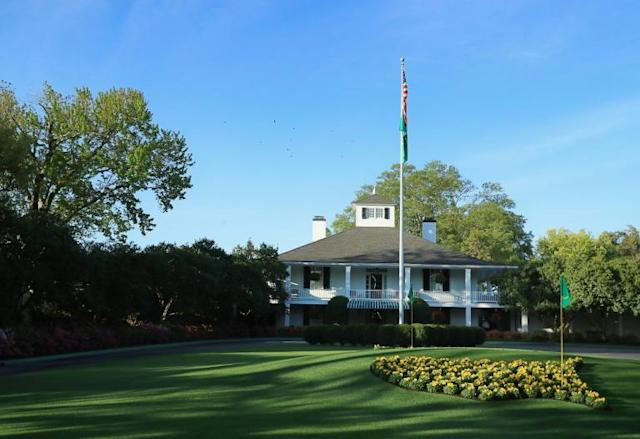The 2020 Masters at Augusta will take place in November 2020 as part of a revised golf calendar (AFP Photo/Andrew Redington)
