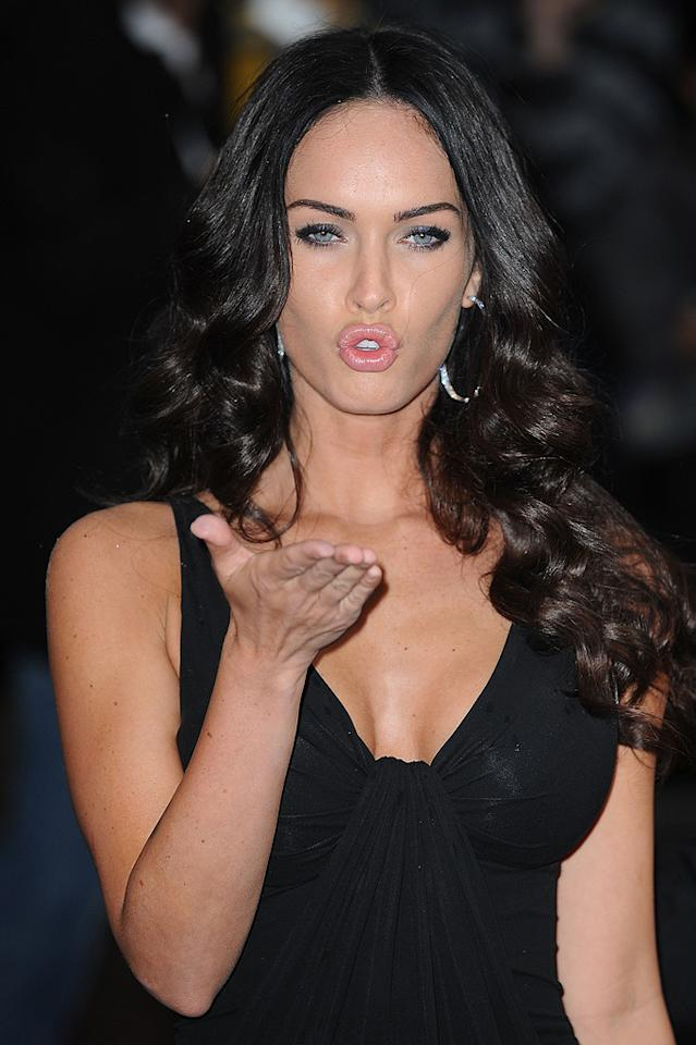 """<a href=""""http://movies.yahoo.com/movie/contributor/1808488000"""">Megan Fox</a> at the London premiere of <a href=""""http://movies.yahoo.com/movie/1809943432/info"""">Transformers: Revenge of the Fallen</a> - 06/15/2009"""