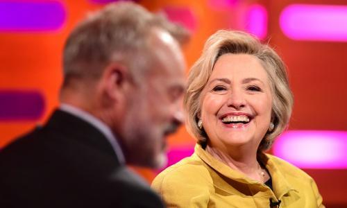 Why does nobody mention that Hillary Clinton is perfectly nice?