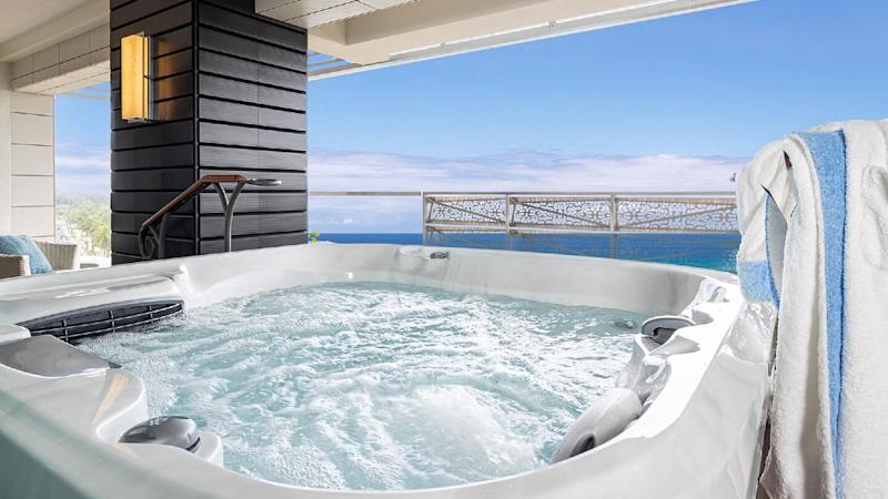 The Penthouse Suite at the Espacio the Jewel of Waikiki hotel