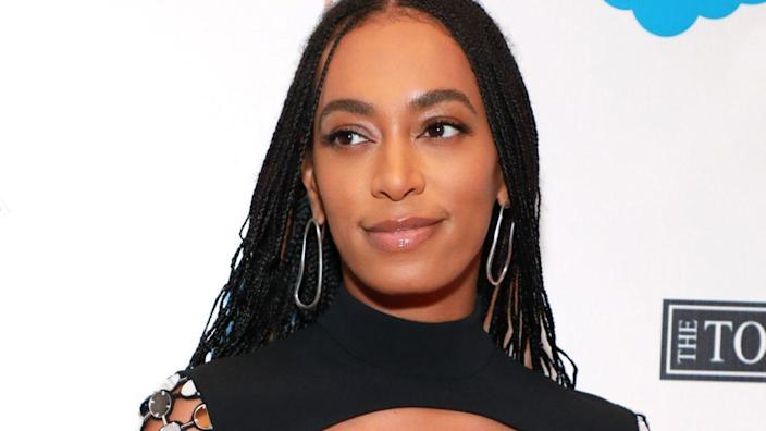 Solange Knowles attends the Lena Horne Prize Event honoring the young singer-actress last February in New York City. (Photo by Jason Mendez/Getty Images for The Town Hall)