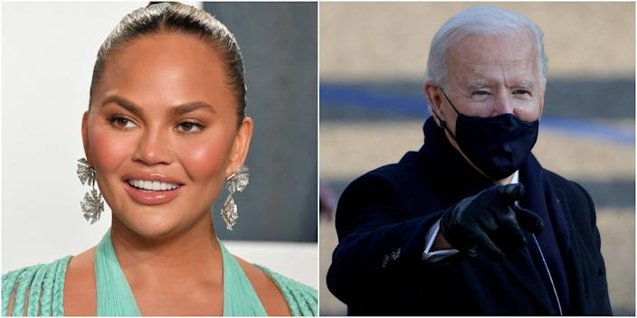 chrissy teigen joe biden wide