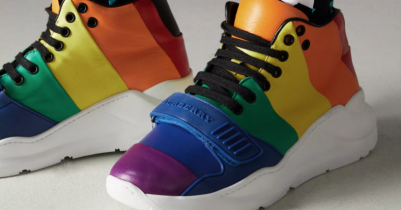 We Love...  Christopher Bailey promised a celebration of the rainbow - a symbol of inclusiveness and joy - throughoutBurberry's February 2018 collection and his London Fashion Week show certainly delivered the revelry.