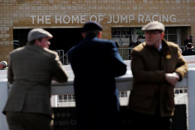 Horse Racing - Cheltenham Festival - Cheltenham Racecourse, Cheltenham, Britain - March 13, 2018 Racegoers at Cheltenham Racecourse Action Images via Reuters/Andrew Boyers