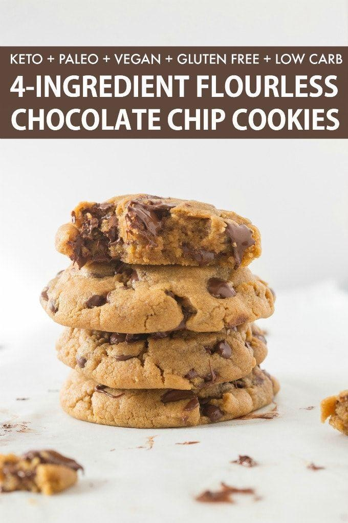 """<p>Everyone needs chocolate chip cookies and this keto, vegan version of the classic gets the job DONE.<br></p><p><a class=""""link rapid-noclick-resp"""" href=""""https://thebigmansworld.com/keto-vegan-chocolate-chip-cookies/"""" rel=""""nofollow noopener"""" target=""""_blank"""" data-ylk=""""slk:GET THE RECIPE"""">GET THE RECIPE</a></p><p><em>Per serving: 105 calories, 10 g fat, 4 g carbs, 2 g fiber, 0 g sugar, 5 g protein</em></p>"""