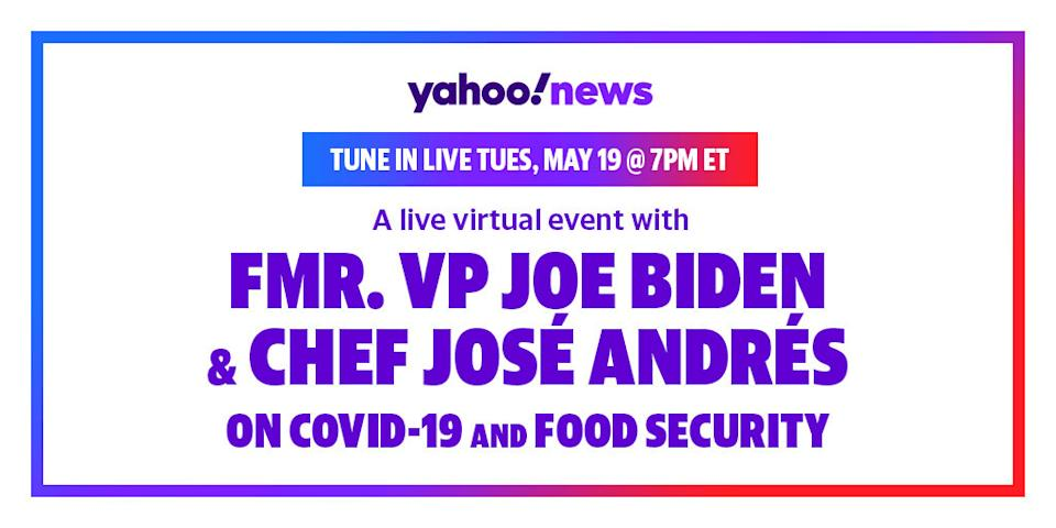 Former Vice President Joe Biden and Chef Jose Andres talk food security at a Yahoo News Town Hall.