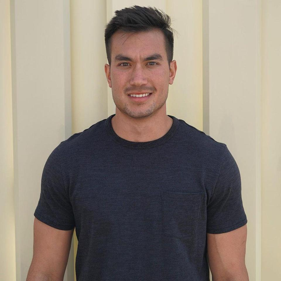 """<p> We didn't see much of Chris during his short stint as a contestant on season 16 of <em>The Bachelorette</em>, but I feel like he'd be the perfect nice guy for<em> Bachelor in Paradise.</em> I mean, come on, <a href=""""https://www.deseret.com/entertainment/2020/11/5/21551794/the-bachelorette-2020-season-16-clare-crawley-ratings-utah-contestant-uvu"""" rel=""""nofollow noopener"""" target=""""_blank"""" data-ylk=""""slk:he responded to all 1,200 Instagram messages"""" class=""""link rapid-noclick-resp"""">he responded to <em>all</em> 1,200 Instagram messages</a> he got after his elimination AND he believes in fate! Total! Cutie! </p>"""