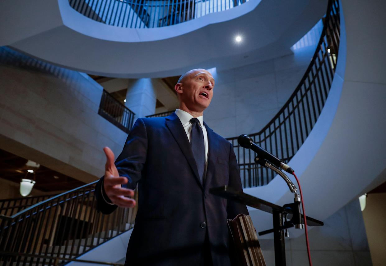 Carter Page, a foreign policy adviser to Donald Trump's 2016 presidential campaign. (Photo: J. Scott Applewhite/AP)