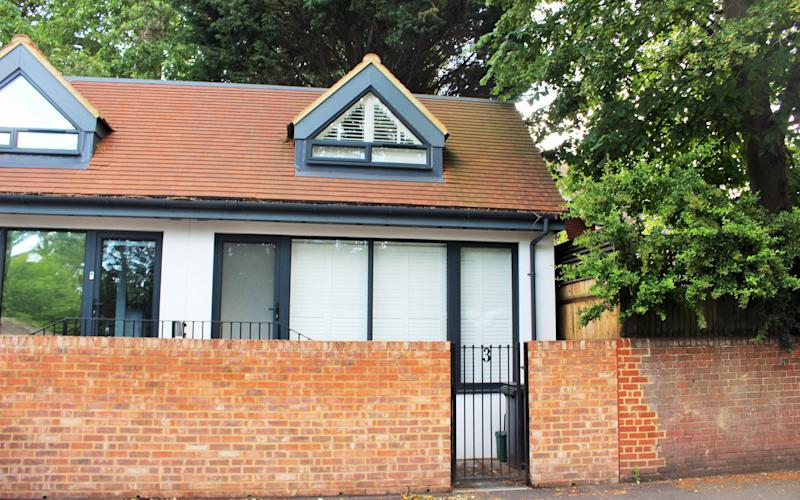 The semi-detached, one-bedroom house in Ewell Village, Surrey is on the market for £330,000