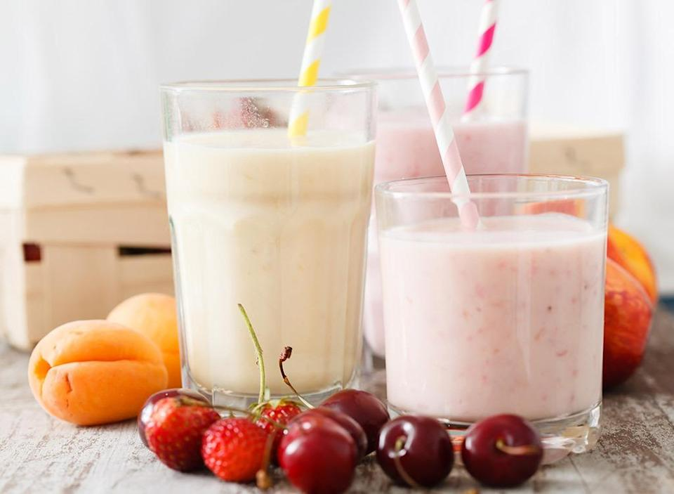 worst healthy snacks fruit smoothies