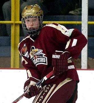 Newbridge Academy's Luke Green could land in Saint John come draft day. (Ted Pritchard / Halifax Chronicle-Herald)