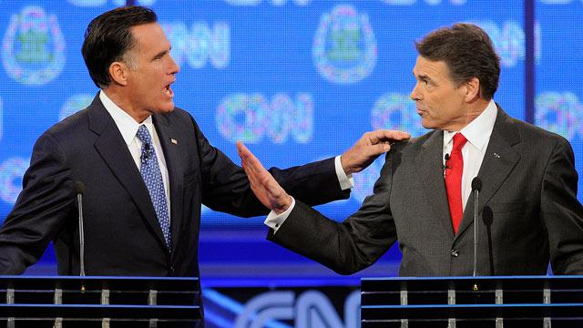 How Does Romney-Perry Debate Dust-Up Stack Up?