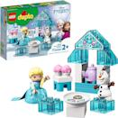 <p><span>Lego Duplo Disney's Frozen Elsa and Olaf's Tea Party</span> ($20) has 17 pieces and is best suited for toddlers ages 2 years and up.</p>