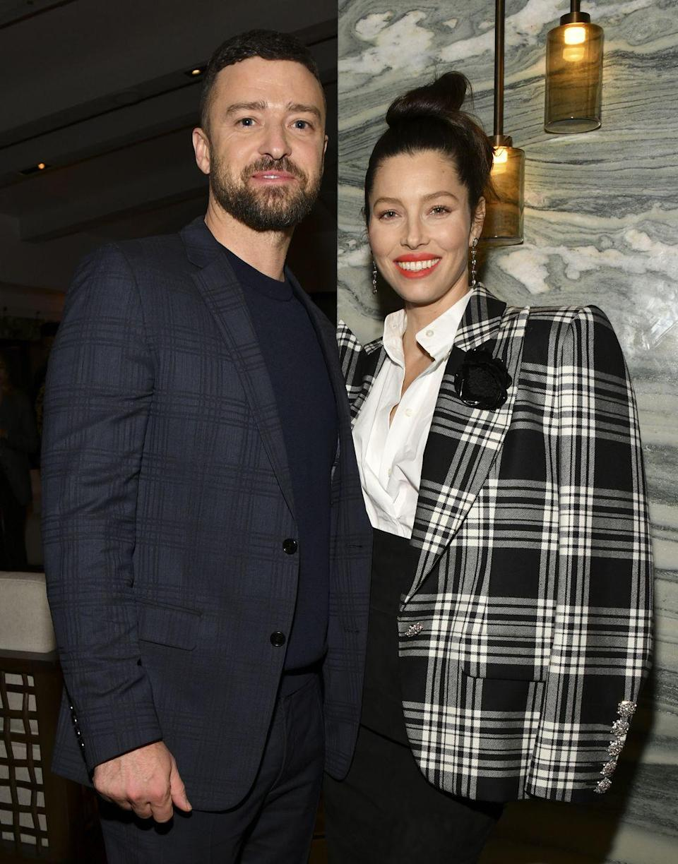 "<p>Bet you didn't know that Jessica Biel took an untraditional route and wore a <em>pink </em>custom Giambattista Valli Haute Couture dress when she walked down the aisle. That decision alone is said to <a href=""https://www.popsugar.com/celebrity/Justin-Timberlake-Jessica-Biel-Wedding-Facts-43631120"" rel=""nofollow noopener"" target=""_blank"" data-ylk=""slk:have cost $100,000—"" class=""link rapid-noclick-resp"">have cost $100,000—</a>just a fraction of their $6.5 million special day. </p>"