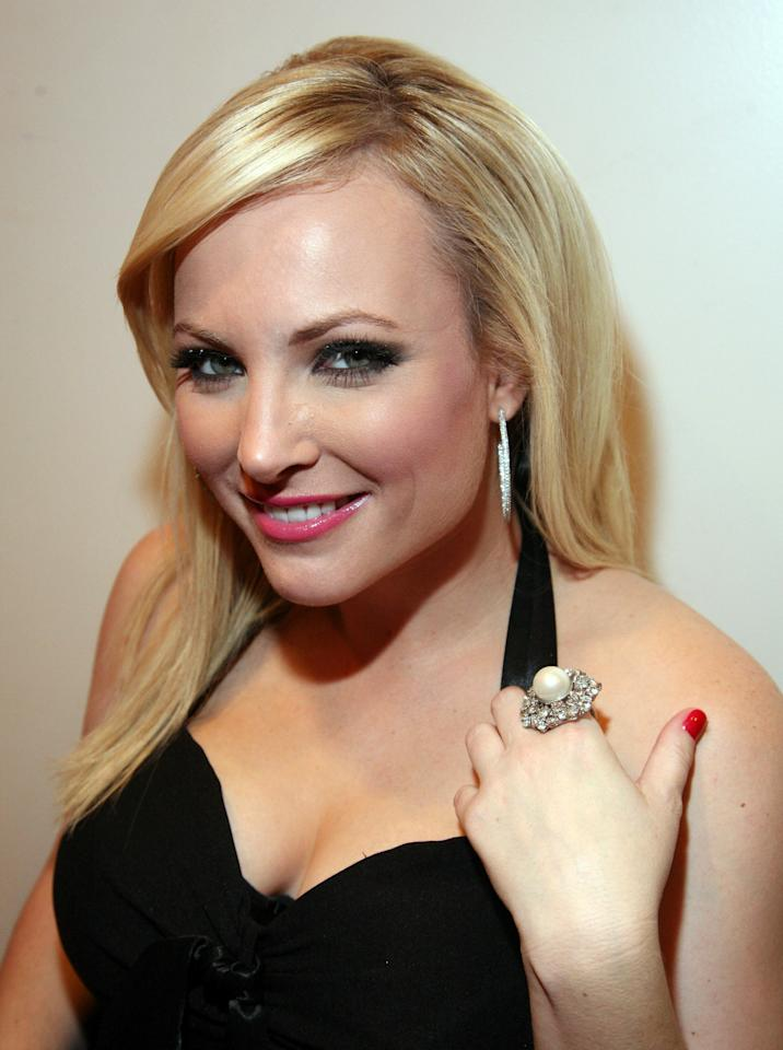 "NEW YORK, NY - DECEMBER 31:  Meghan McCain attends Bravo's ""Watch What Happens Live: Andy's New Year's Party"" at the Bravo Club House at the Embassy Row Production Offices on December 31, 2010 in New York City.  (Photo by John W. Ferguson/Getty Images)"