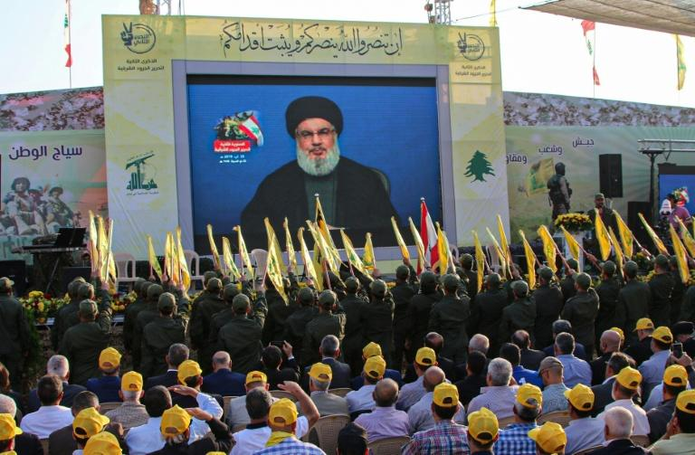 Nasrallah addressed thousands of supporters in a televised speech