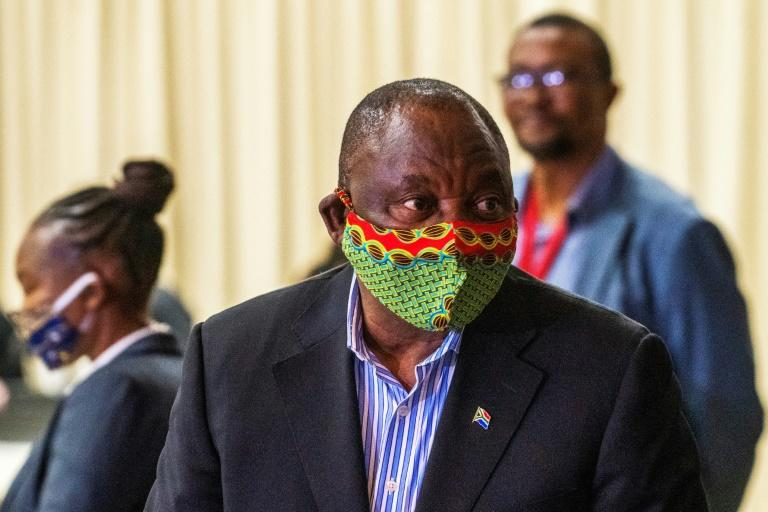 South African President Cyril Ramaphosa's mask incident lightened the mood in a country entering the fifth week of a strict nationwide lockdown