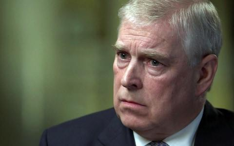Prince Andrew speaks to Newsnight - Credit: BBC