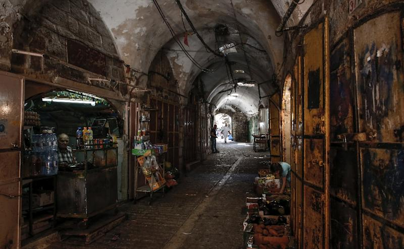 Hebron's walled Old City is located in the southern West Bank and is home to more than 200,000 Palestinians and a few hundred Jewish settlers