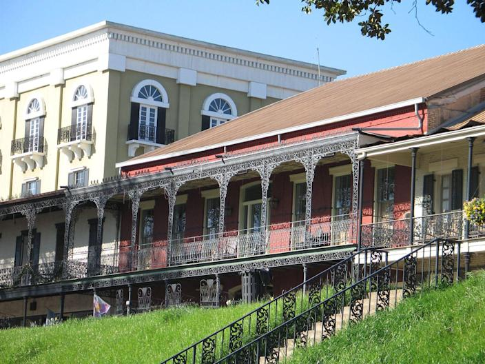 """<p><strong>Established in:</strong> 1714</p><p>Natchitoches is known as the <a href=""""https://www.britannica.com/place/Natchitoches"""" rel=""""nofollow noopener"""" target=""""_blank"""" data-ylk=""""slk:oldest permanent settlement"""" class=""""link rapid-noclick-resp"""">oldest permanent settlement</a> in the Louisiana Purchase territory. It was founded by French-Canadian explorer and soldier Louis Juchereau de Saint-Denis and was once known as Fort St. Jean Baptiste. It was renamed for the Natchitoches Native Americans. </p>"""