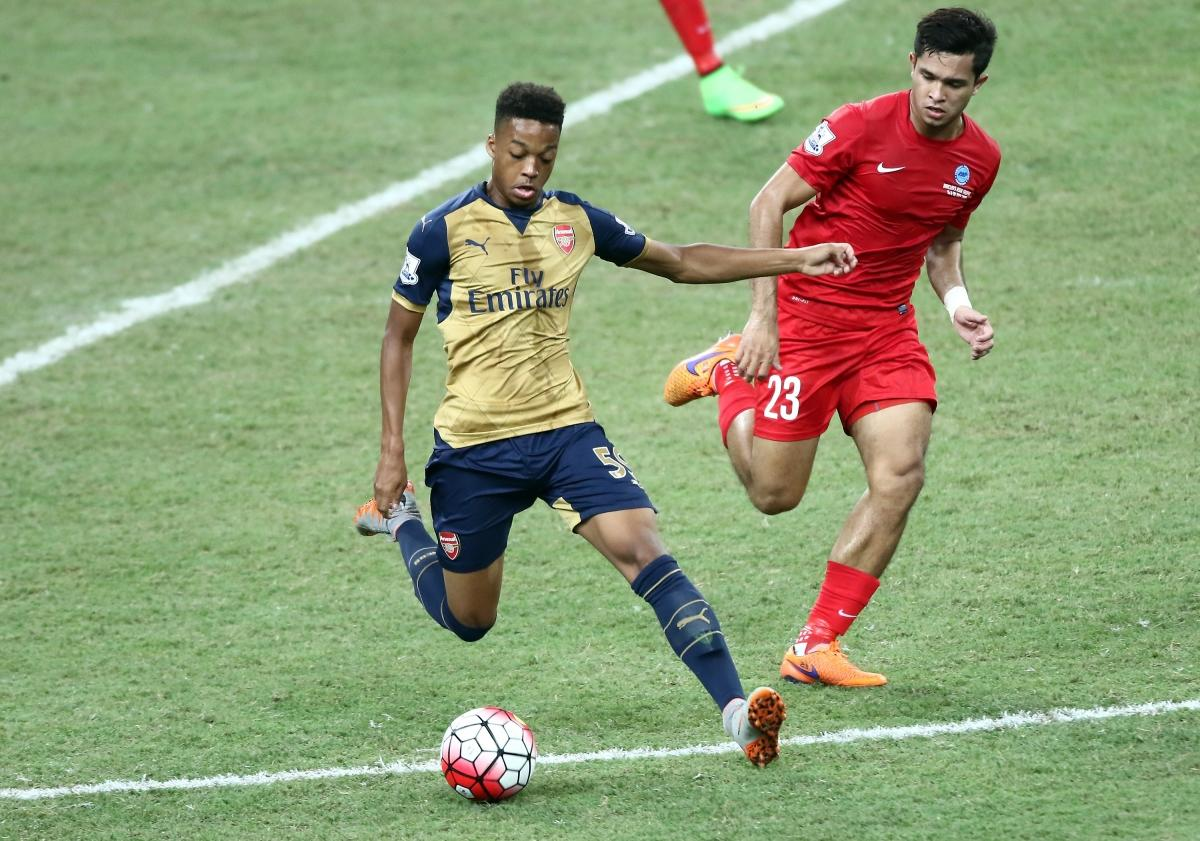 Arsenal forward Chris Willock set to join Benfica on free transfer