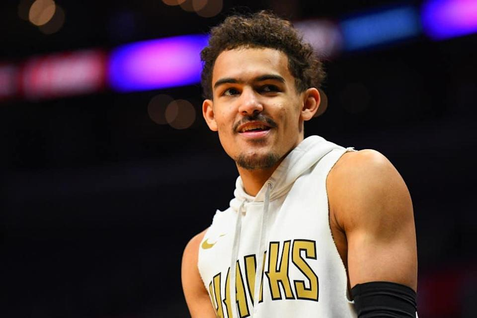 EMac gives his favorite NBA DFS picks for Yahoo, DraftKings + FanDuel daily fantasy basketball playoffs lineups, with Trae Young   6/25/21