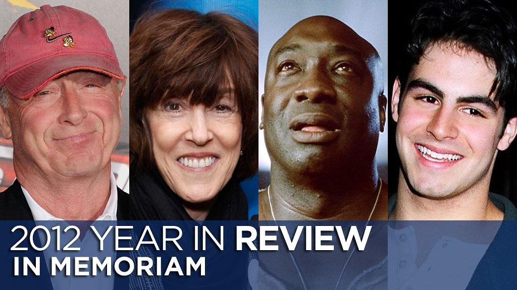 Tony Scott, Nora Ephron, Michael Clark Duncan and Sage Stallone