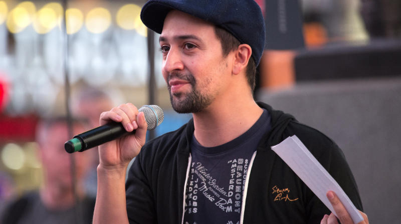 Lin-Manuel Miranda: Puerto Rico Deserves The Same Amount Of Relief As Texas, Florida