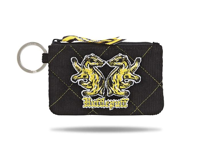 There's a pouch for each Hogwarts House.
