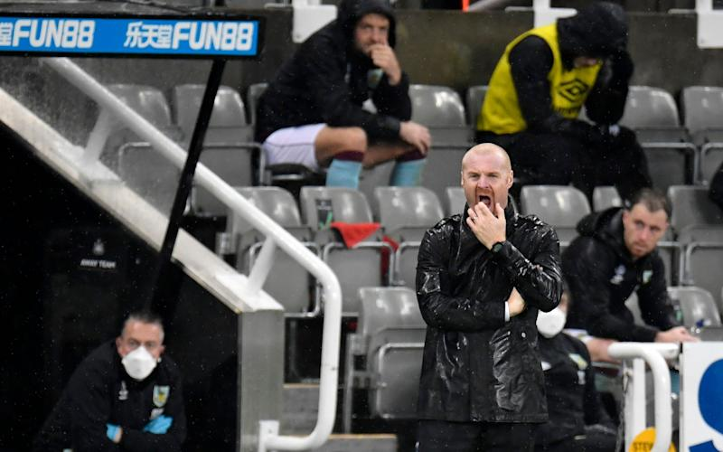 Sean Dyche refusing to panic after Burnley's latest slow start to a Premier League season - Peter Powell/Pool via AP