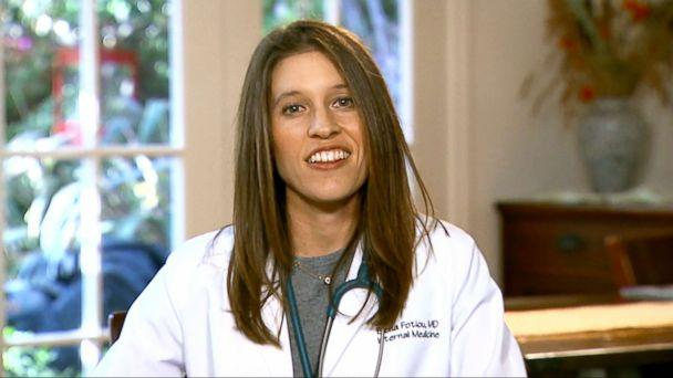 PHOTO: Dr. Elana Fotiou said she was inspired to become a doctor by Ellen Pompeo's character on 'Grey's Anatomy.' (ABC)