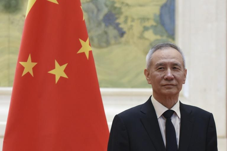 Investors cheered confirmation that China's top negotiator Vice Premier Liu He will attend this week's high-level trade talks in Washington