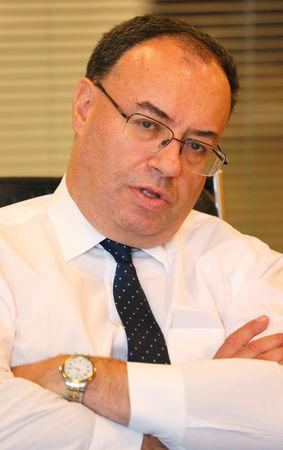 FILE PHOTO: Andrew Bailey, chief executive of the Financial Conduct Authority, September 25, 2017.  REUTERS/Afolabi Sotunde/File Photo