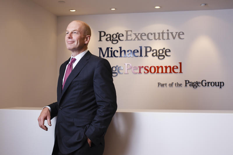 Steve Ingham, Chief Executive Officer of PageGroup. 25JUN13 (Photo by Berton Chang/South China Morning Post via Getty Images)