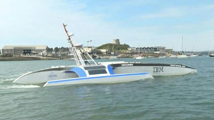 Mayflower 400 aims to be first unmanned vessel to cross Atlantic