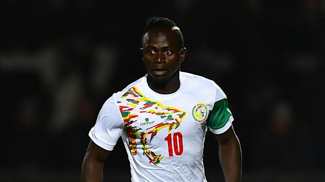 The Reds winger was jostled after the final whistle as his Senegal side conceded a win late on against their west African rivals Nigeria in London