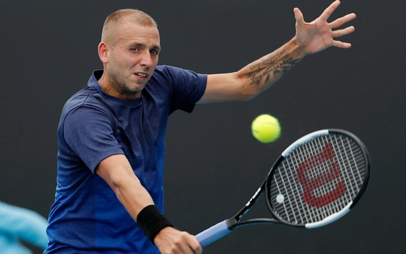 British No 1 Dan Evans does not plan to play in the Olympics this year - REX