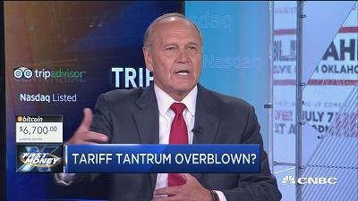 Robert Nardelli, former Chrysler chairman and CEO, discusses how markets are reacting to trade war fears.