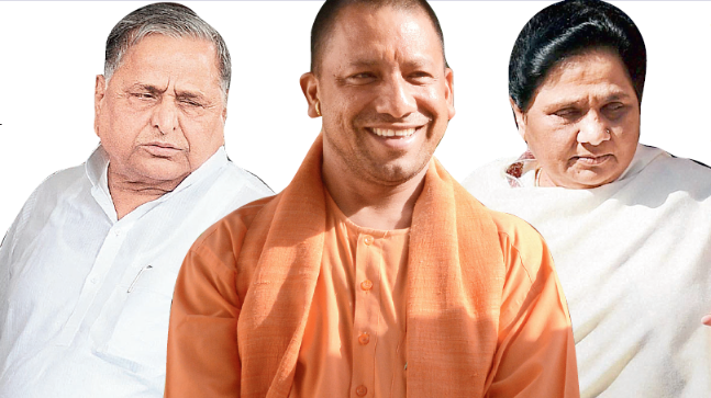 In rare show of unity, Yogi regime defends in SC allotment of government houses to his bitter rivals Mulayam and Mayawati.