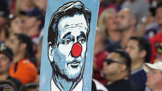 Patriots fans at Gillette Stadium likely won't see Roger Goodell Thursday night