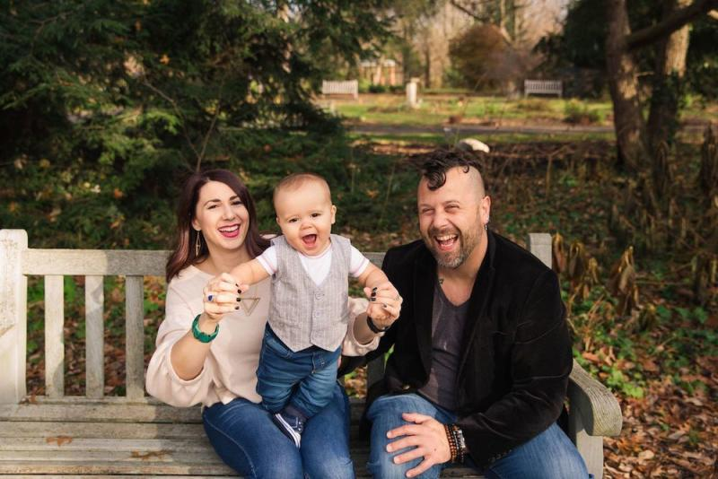 When Nickey Winkelman was expecting, she saw her baby's size being compared to kabocha squash and kale. But she wanted to know what size he was in terms of the food she craved: burgers!
