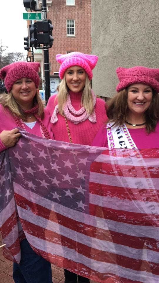 Pink Pussy Hats Unite Millions At Women S Marches Around The World
