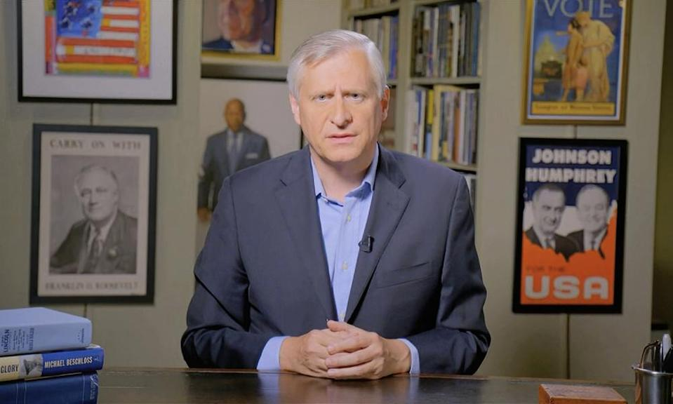 Jon Meacham speaks during the Democratic National Convention