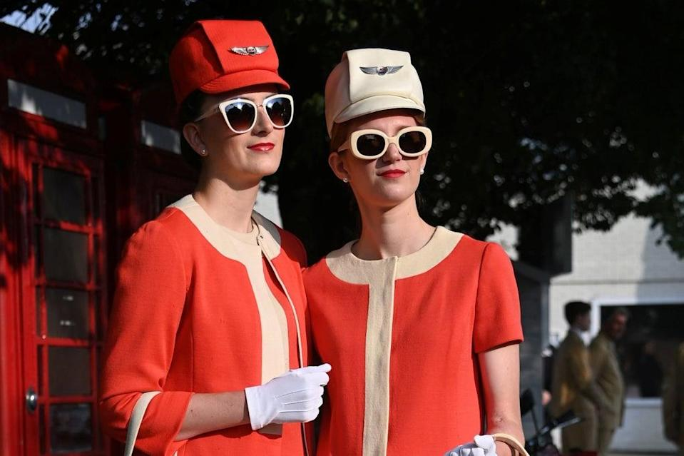 The Goodwood Revival was like stepping back in time.  (REUTERS)