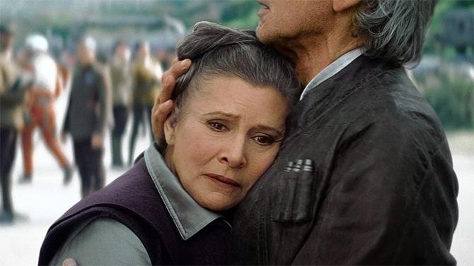 Carrie Fisher no estará en el Episodio IX