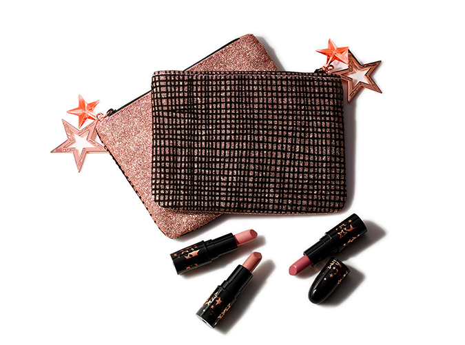 """<h2>3. MACLucky Stars Neutral Lipstick Kit</h2> <p>Who <em>wouldn't</em> want a multi-pack of velvety lipsticks? All three shades are a variation on the universally-flattering soft pink and come in a glitzy zipper pouch that makes it easy to transport them safely home after the holidays.</p> <p><a class=""""cta-button-link"""" href=""""https://shop-links.co/1692958425818838311"""" target=""""_blank"""">Buy It ($30)</a></p>"""
