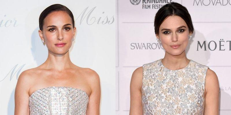 """<p>Knightley and Portman look so strikingly similar in fact that, Knightley actually <a href=""""http://www.youtube.com/watch?v=RNEQ3y1qPAM"""" rel=""""nofollow noopener"""" target=""""_blank"""" data-ylk=""""slk:played Portman's double, Sabé,"""" class=""""link rapid-noclick-resp"""">played Portman's double, Sabé,</a> in Star Wars: Episode I - The Phantom Menace.</p><p>In an interview on The Late Late Show with James Corden, Knightley acknowledged the similarities before explaining that alongside being mistaken for being Portman, she has also been mixed up with Kate Winslet, Rachel Weisz, and even Britney Spears.</p>"""