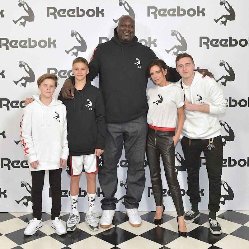 0ae2993b048  90s Icons Unite  Victoria Beckham and Shaquille O Neal Spend the Day  Together