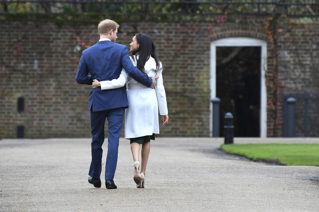 "<p>Next up? A wedding. So far, all we know is that they'll tie the knot in the spring. ""Further details will be announced in due course."" We can't wait. (Photo: Chris Jackson/Getty Images) </p>"