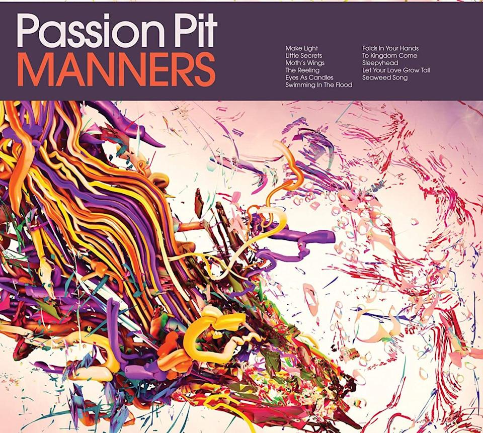 <p>The first single off the 2009 record <em>Manners</em>, <em>Sleepyhead </em>packs a punch of synths and expertly autotuned vocals, suitable for any cardio sesh.</p><p><em>You were one inch from the edge of this bed. I dragged you back a sleepyhead.</em></p>